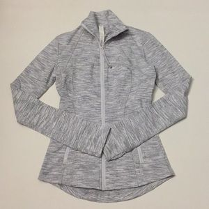NEW Lululemon Define Jacket Ice Grey size 2